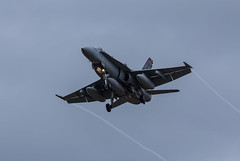 Red Devil on approach (Liam Chambers) Tags: red usa usmc america plane fighter devils marines f18 usaf miramar raf lakenheath