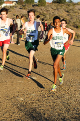 Naveen and Henry look towards the finish (Malcolm Slaney) Tags: championship crosscountry xc crystalsprings 2015 scval