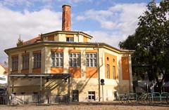 Museum der Wahrnehmung (MR.PERSPEKTIVE.FOTO) Tags: museum graz augarten wahrnehmung hausfassade muwa