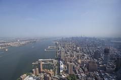 Above all (Olivier So) Tags: nyc usa ny newyork manhattan hudsonriver freedomtower 1wtc