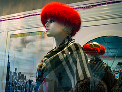 Preparing for Winter (RansomedNBlood) Tags: mannequin charleston wv westvirginia sonynex6