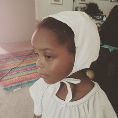 iphotographlove: Charlottes coif!!! Max has one too  I love historically dressed kiddos!!! #pennsic #sca #historicalclothing #garb #coif Garb Week! (medievalpoc) Tags: cute fashion kids children for sca creative week historical society anachronism coif garb iphotographlove