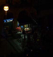 Baratze gauean (M C VICARIO) Tags: night noche nuit donostia greengrocer gaua frutería fruiterie baratze
