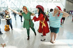 Comikaze 2015 (V Threepio) Tags: girl costume outfit geek cosplay posing peterpan disney comicconvention smee captainhook unedited comikaze2015