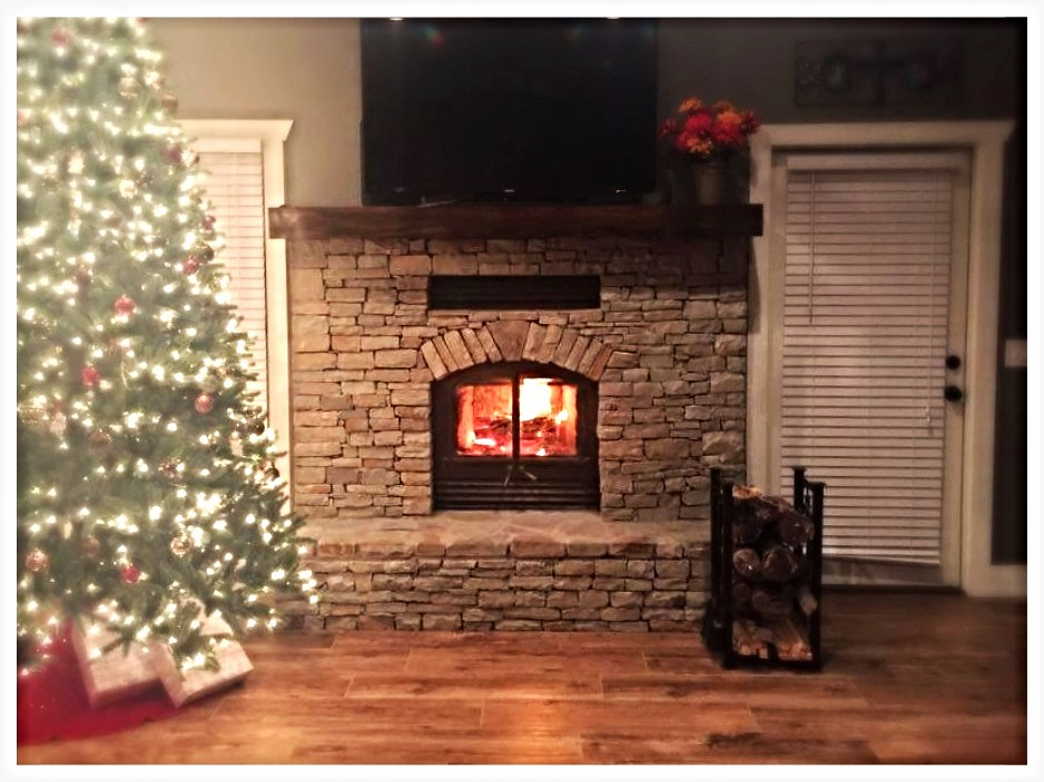 RSF Opel 2 Wood Burning Fireplace. Mentone, Al.