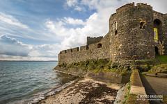 Carrickfergus Castle (mbriga) Tags: ireland sea castle clouds canon eos mark iii shore northernireland 5d northern hdr subtle subtlehdr 5dmk3 eos5dmarkiii 5d3 5diii