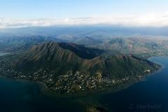 Mont Dore (cedric.harbulot) Tags: sea sky cloud mer mountain montagne plane nikon aircraft sigma ciel nuage paysage nouvellecaldonie newcaledonia hlice d5300