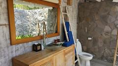 La salle de bain de la villa