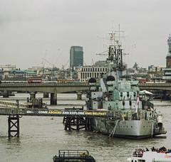 HMS BELFAST (B.e.D) Tags: city inglaterra viaje urban panorama london barco ship ciudad londres urbano londra reinounido panograph panografa hmsbelfst