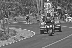 Nino Peregrino (Momoztla) Tags: mexico carretera bicicleta moto guadalupe nio camioneta baslica 2015 adulto ixtapaluca momoztla peregrinaciuon