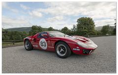 gt40 5 (scoo_bert) Tags: castle classic ford car race scotland nikon jackie fast steward d800 gt40 inveraray