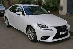2015 Lexus IS 250 (GSE30R) Luxury sedan