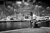 Demolition Man - Lucifer's Friend (Janusz Kudlak) Tags: ilovemywife agnieszka myniu pastuch sony alpha700 best clouds sea boat
