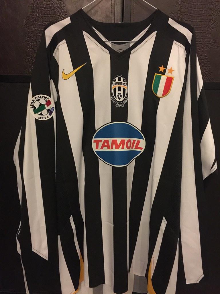 bf19f854c33 Juventus Del Piero Matchworn Issued 2005 06 (Shamlan17) Tags  cameista  maillot porte