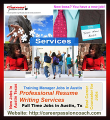Best Career Counselor for Jobs in Austin TX (The Career Passion Coach) Tags: career counselor austin tx resume writing services coaching job seekers