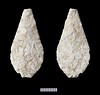Neolithic arrowhead (Wessex Archaeology) Tags: archaeology archaeological neolithic arrowhead flint cortication leafshaped