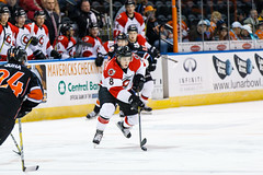 "Missouri Mavericks vs. Cincinnati Cyclones, January 25, 2017, Silverstein Eye Centers Arena, Independence, Missouri.  Photo: John Howe / Howe Creative Photography • <a style=""font-size:0.8em;"" href=""http://www.flickr.com/photos/134016632@N02/31746423043/"" target=""_blank"">View on Flickr</a>"
