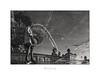 Paris n°102 - Refreshing (Nico Geerlings) Tags: reflection puddle placedelaconcorde mirror paris parijs france fountain ngimages nicogeerlings nicogeerlingsphotography leicammonochrom 50mm summilux
