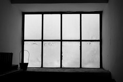 Cold morning (-Aldievel-) Tags: italy winter cold leica blackandwhite light italia window lights monochrome shadows windows home molise stilllife biancoenero snowfall casa luce inverno finestra ombre luci inside freddo nevicata finestre dlux3