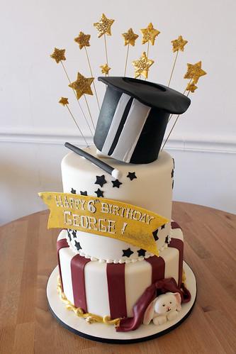 Magicians Hat Birthday Cake