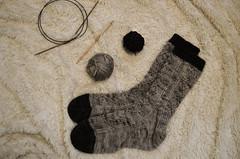 M I R R O R W O R K (dear emma rae) Tags: handknit knitting knits socks knitsocks sockknitting ravelry thewoolclub thewoolclubknits suzyparkeryarns malabrigoyarns yarn wip finishedknits widn dailyknits dailyknitting