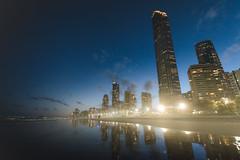 sea haze (gi-moon Kang) Tags: gold coast surfers paradise qld australia nikon d5300 sea beach city night