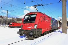 ÖBB 1116 168-6 Vega Trans, Containerzug Kufstein (michaelgoll777) Tags: öbb taurus 1110 1016