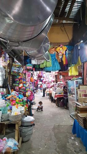 Market, Flores, Guatemala