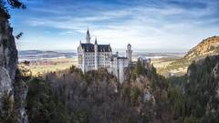 neuschwanstein 1920 x 1080 (Lost Light) Tags: neuschwanstein castle bavaria germany alps disney