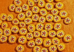 my wife's handmade beads (stempel*) Tags: polska poland polen polonia pentax k30 gambezia macro makro 7dwf