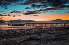 Santa Cruz, CA. (drpeterrath) Tags: canon eos5dsr 5dsr beach color landscape seascape sunset pier ocean water sky cloud outdoor