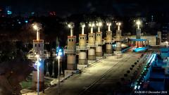 Barcelona, Spain: Parc de l'Espanya Industrial (nabobswims) Tags: barcelona catalonia es españa hdr highdynamicrange lightroom nabob nabobswims night parcdelespanyaindustrial photomatix sel18105g sonya6000 spain catalunya