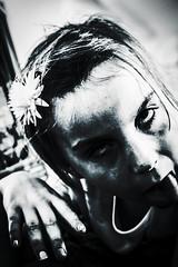 Childish (Matthew Crake) Tags: childish family portriat blackandwhite sillyface kids