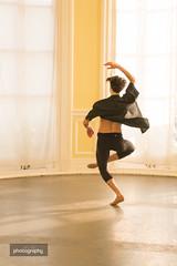 Ruben (Alex Chilli) Tags: ballet dancer maledancer twirl twist enpointe balance poise turn canon eos 70d studio shoot photography photo light yellow windows solitary alone practice art