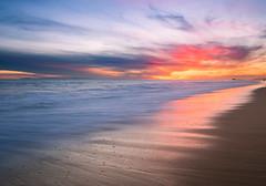 Newport Beach (meeyak) Tags: newportbeach newport beach ocean beautiful colors water longexposure oc orangecounty westcoast sunset meeyak olympus omd mirrorless california travel vacation adventure nature clouds cloudy reflection