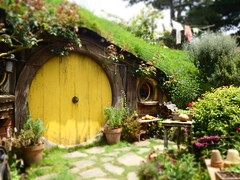 Home of a Hobbit (Karen Pincott) Tags: home matamata hobbitonmovieset newzealand lordoftherings thehobbit
