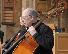 DSCN7054c Ealing Symphony Orchestra rehearsal. Leader Peter Nall. Conductor John Gibbons. 11th February 2017. St Barnabas Church, Ealing, west London. (Photo: Lucy Robinson) (Paul Ealing 2011) Tags: ealing symphony orchestra eso leader peter nall conductor john gibbons 11th 11 february 2017 st barnabas church west london music valentine festival 8th 12th concert rehearsal film