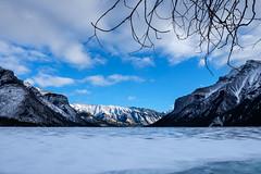 Water of the Spirits (Esther Seijmonsbergen) Tags: canada alberta lakeminnewanka waterofthespirits banff banffnp submergedvillage scubadivingundertheice icediving estherseijmonsbergen glaciallake
