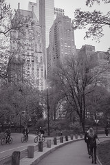 Central Park South.. (Ken B Gray) Tags: essexhouse skyline nyc manhattan newyork city centralpark 2016 monochrome blackandwhite bw 6d noiretblanc