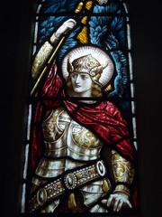 Michael, Whichford (Aidan McRae Thomson) Tags: church window stainedglass warwickshire whichford heatonbutlerbayne