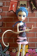 W.9 OOAK Monster High doll Catrine DeMew (WOOXI DOLL) Tags: monster high doll ooak wooxi