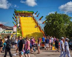 GiantSlide (jmishefske) Tags: summer wisconsin giant nikon state slide august fair 2015 d800e