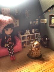 Dalek invasion! Happy Sunday! (AllthingsTiffany) Tags: doll geek room doctorwho blythe dalek icy clone decor dollhouse funko