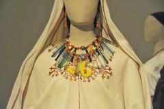 Glass Bead Necklaces Oaxaca Mexico (Teyacapan) Tags: mexico jewelry mexican museo necklaces glassbeads oaxacan zapotec sanpedroquiatoni
