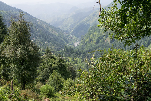 The valley near Bagi village