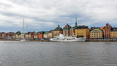 Cloudy Gamla stan (Pawe Szczepaski) Tags: street old city cruise roof sea panorama tower heritage history tourism church monument water ferry architecture se bay harbor town ancient marine europe european boulevard ship cityscape tour waterfront view sweden stockholm harbour capital culture wave swedish medieval quay historic stan ornament historical nordic scandinavia turret scandinavian attraction relic gamla edifice stockholmsln