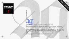 Designer Type #03 Rotunda Love