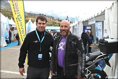 José M Hernández con el gran Mc Bauman