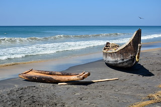 India - Kerala - Varkala - Fishingboats