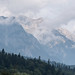 Carpathian Mountains between Sinaia and Bran